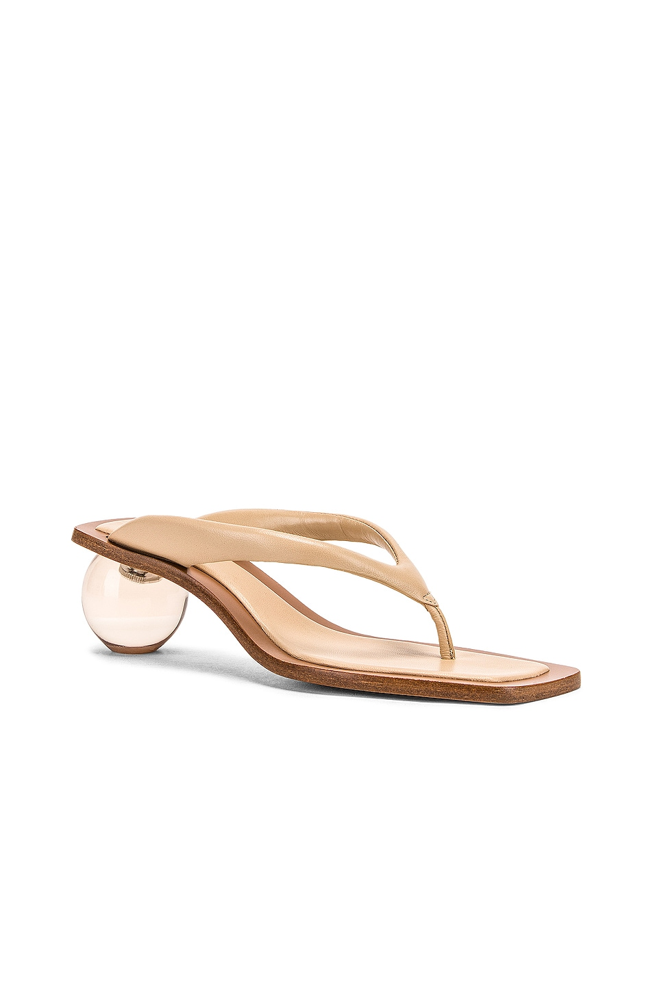 Image 2 of Cult Gaia Jasmin Sandal in Sand