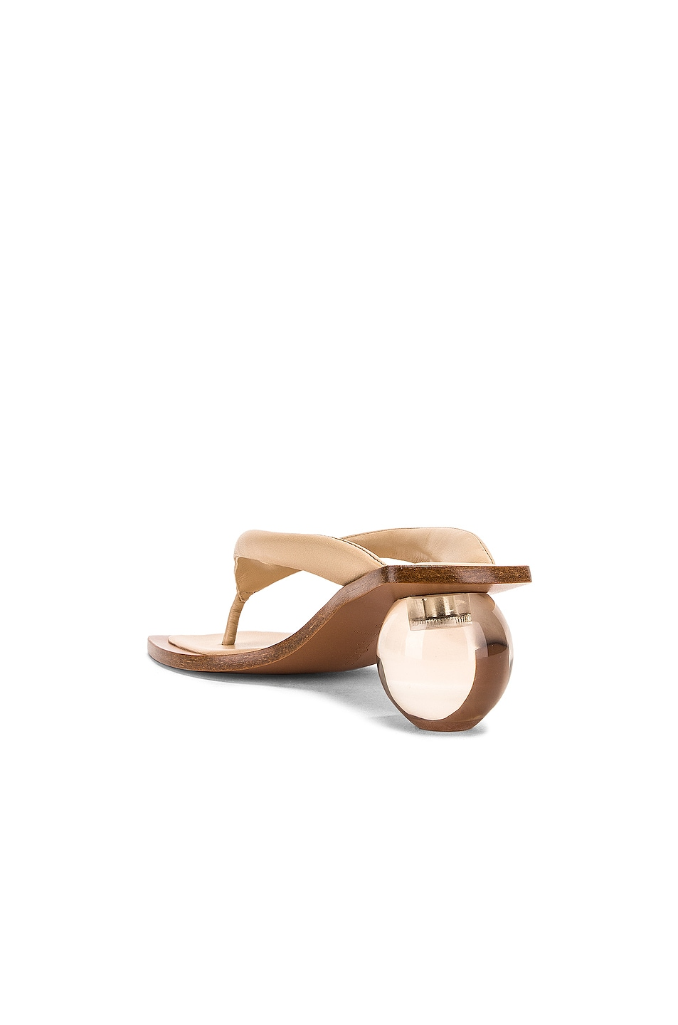 Image 3 of Cult Gaia Jasmin Sandal in Sand