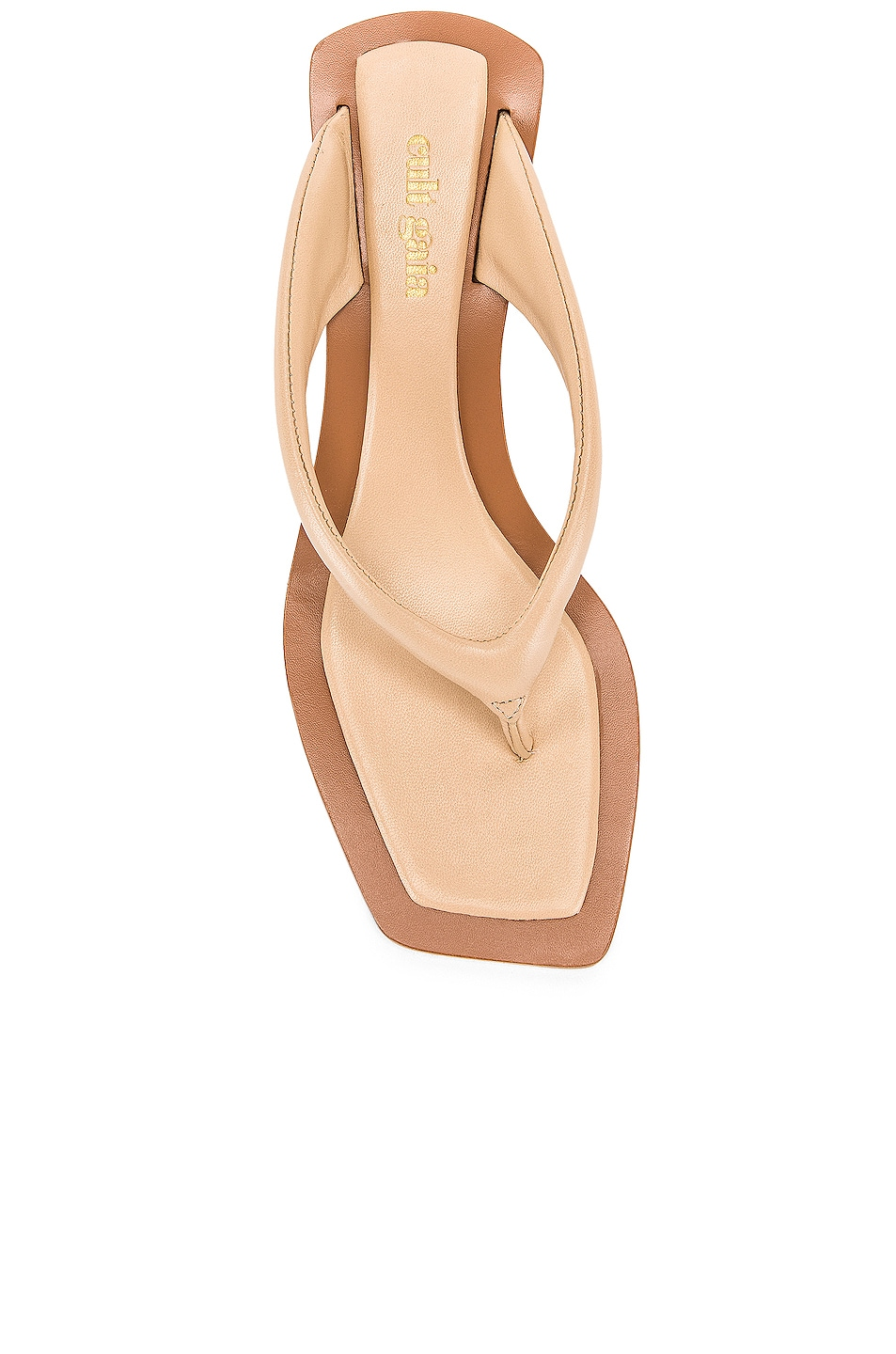 Image 4 of Cult Gaia Jasmin Sandal in Sand