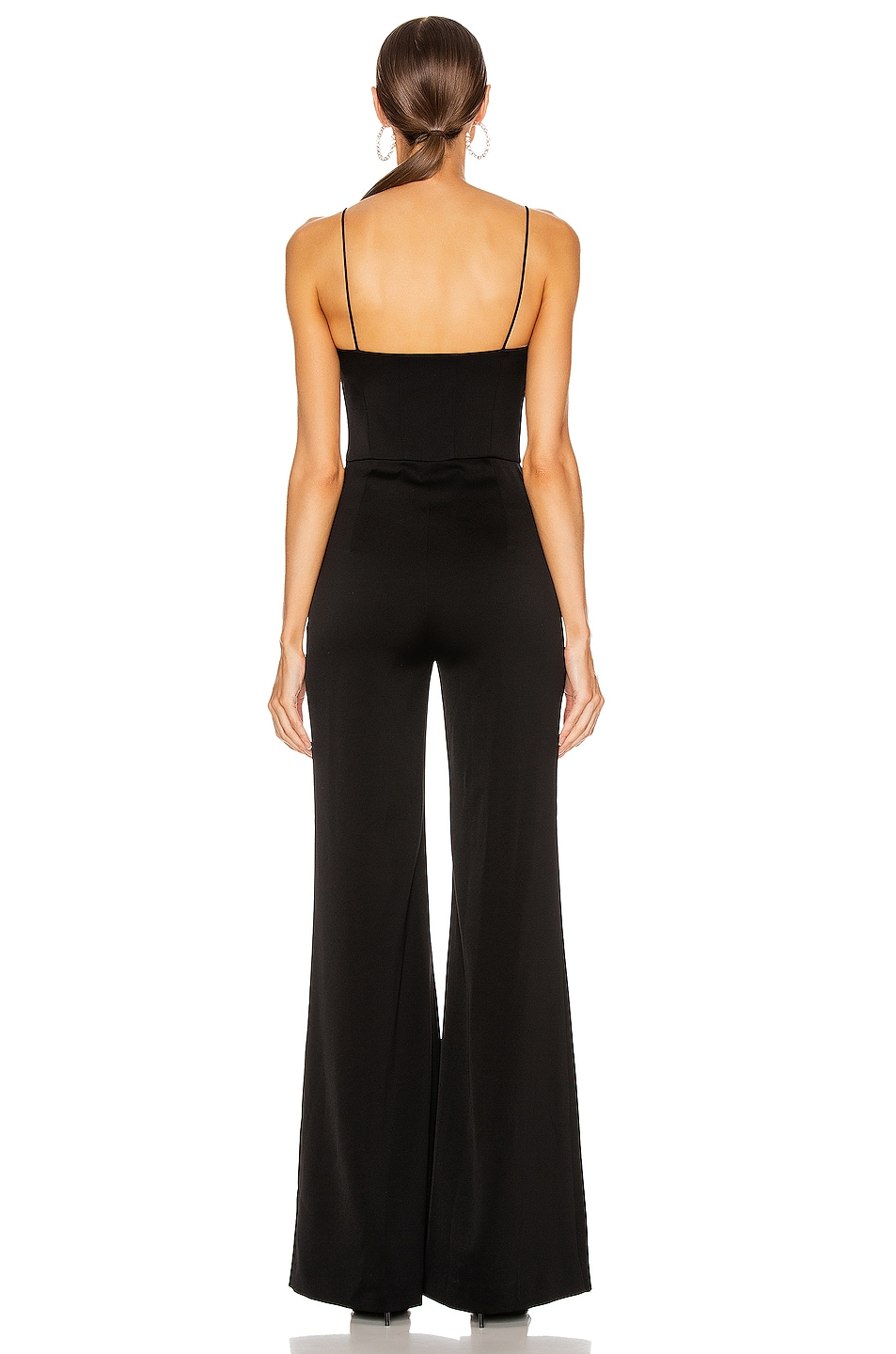 Image 3 of GALVAN Phoebe Jumpsuit in Black