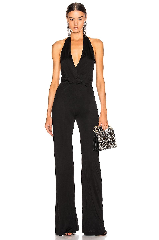 Image 1 of GALVAN Mamounia Jumpsuit in Black