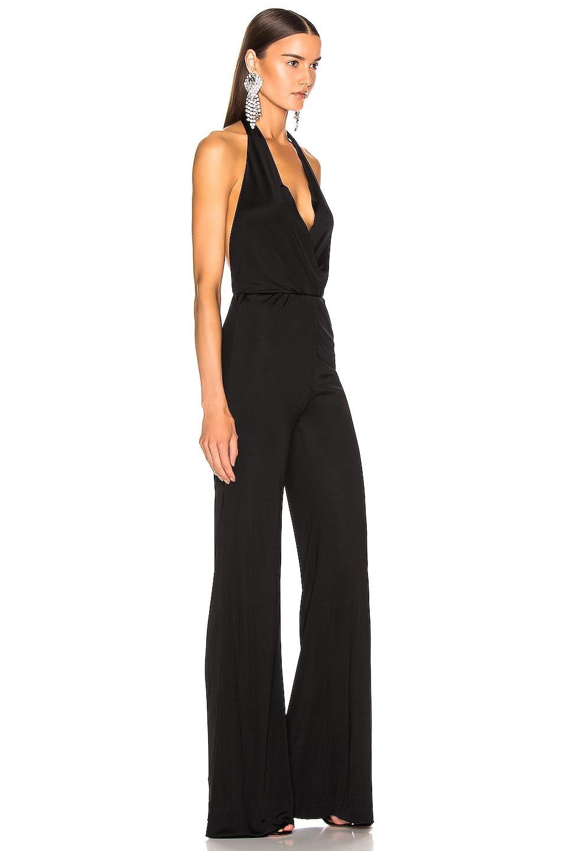 Image 2 of GALVAN Mamounia Jumpsuit in Black