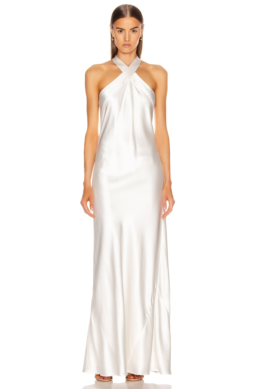 Image 1 of GALVAN Monaco Dress in White