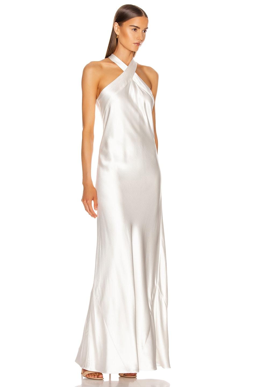 Image 2 of GALVAN Monaco Dress in White