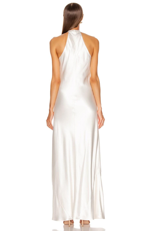 Image 3 of GALVAN Monaco Dress in White