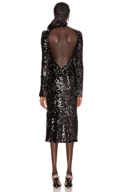 Image 4 of GALVAN Legato Dress in Black