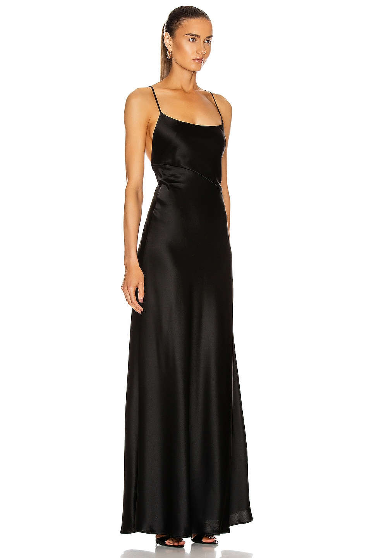 Image 3 of GALVAN Serena Dress in Black