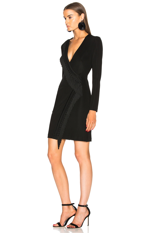 Image 3 of GALVAN Tunqui Cocktail Dress in Black