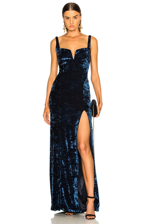 Image 1 of GALVAN Solstice Dress in Sapphire