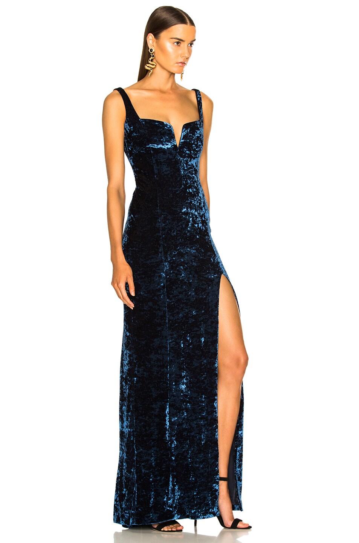 Image 2 of GALVAN Solstice Dress in Sapphire
