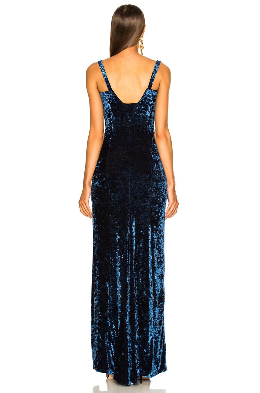 Image 4 of GALVAN Solstice Dress in Sapphire