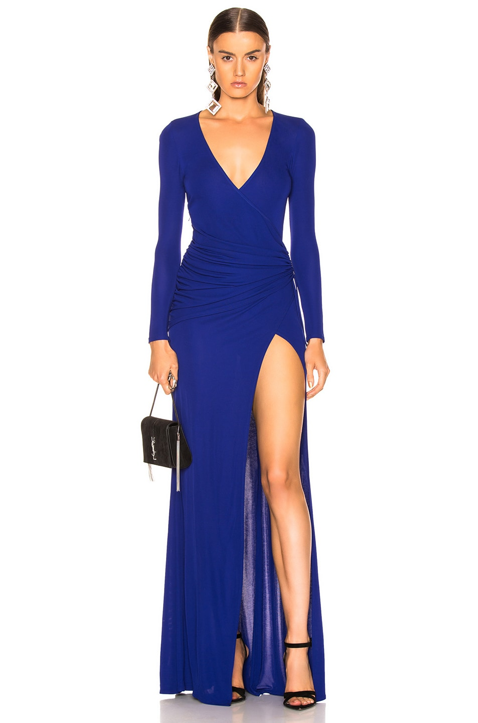 Image 1 of GALVAN Allegra Dress in Cobalt