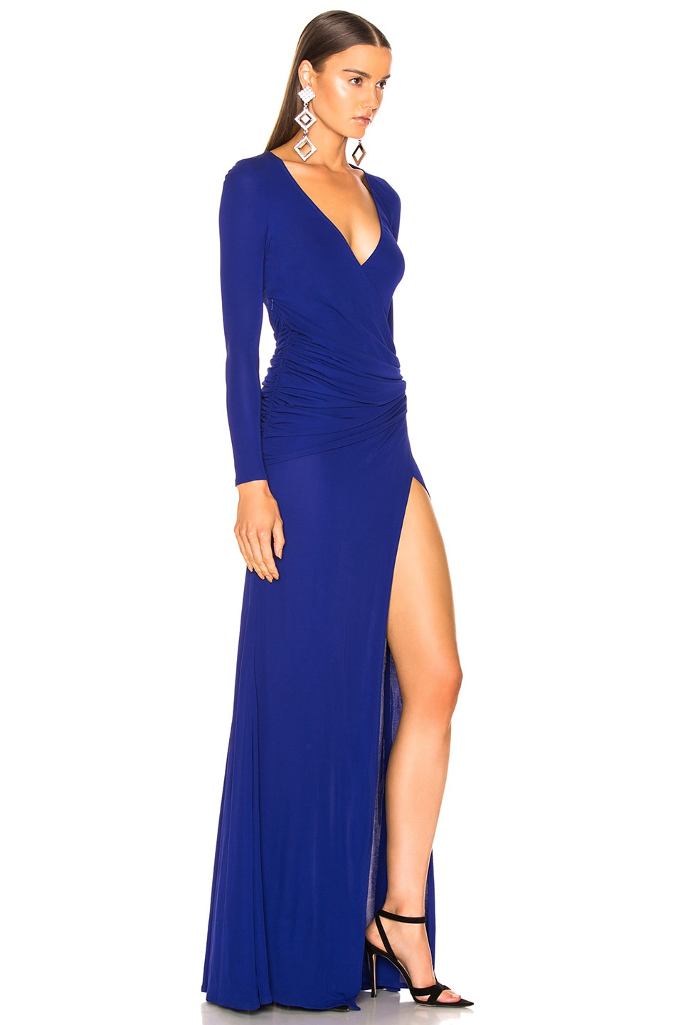 Image 2 of GALVAN Allegra Dress in Cobalt