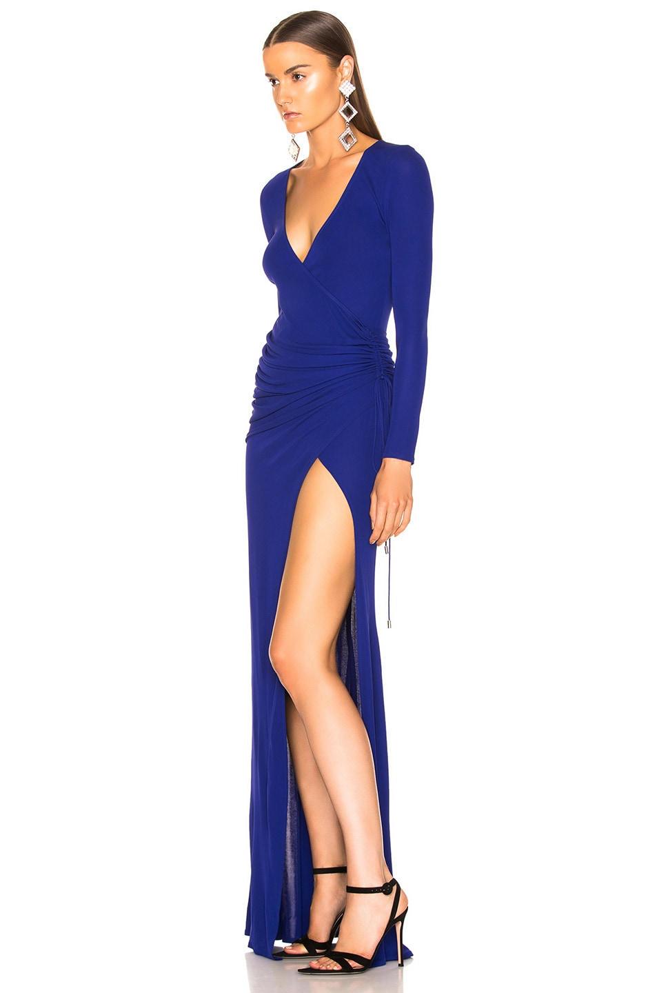 Image 3 of GALVAN Allegra Dress in Cobalt