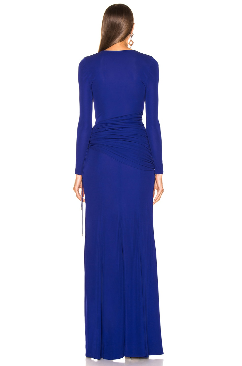 Image 4 of GALVAN Allegra Dress in Cobalt
