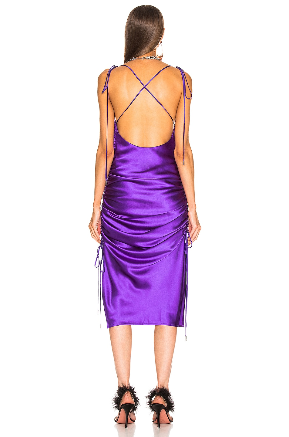 Image 3 of GALVAN Yasmine Dress in Purple