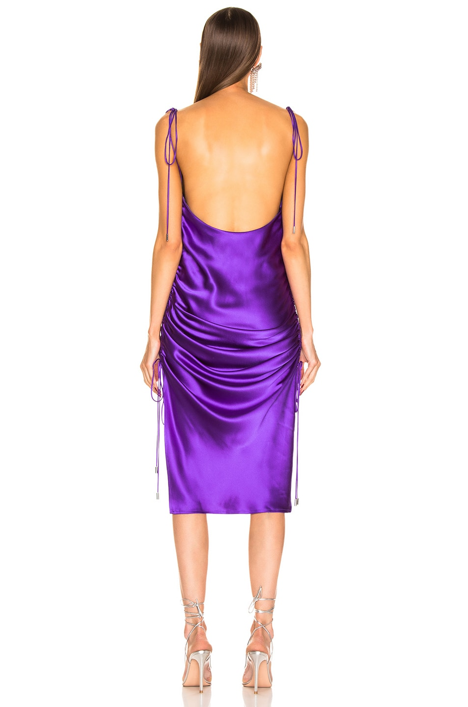 Image 4 of GALVAN Yasmine Dress in Purple