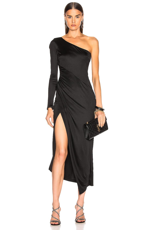 Image 1 of GALVAN Mamounia Dress in Black