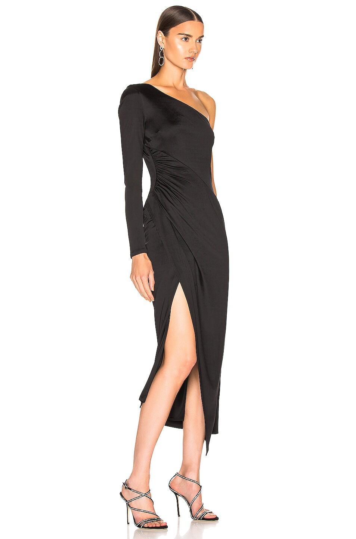 Image 2 of GALVAN Mamounia Dress in Black