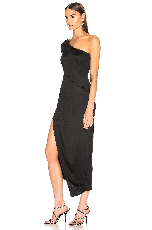 Image 3 of GALVAN Mamounia Dress in Black
