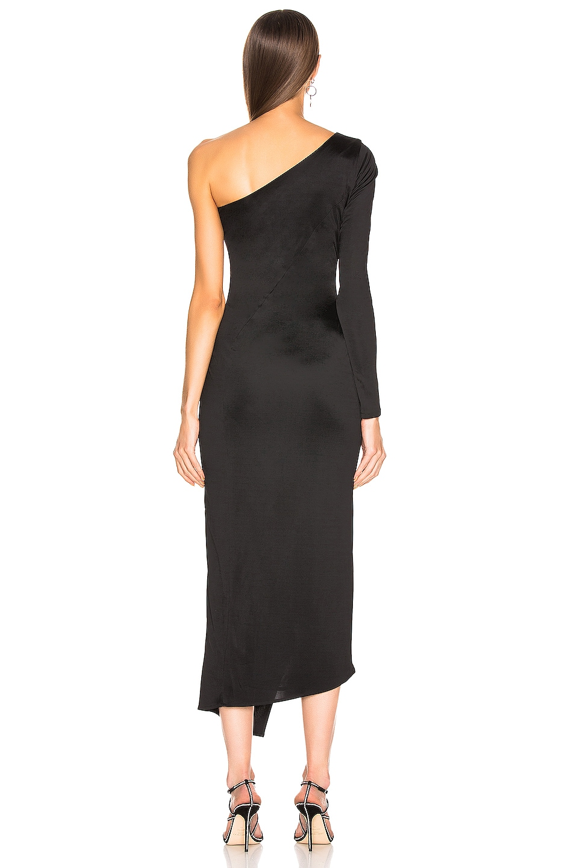 Image 4 of GALVAN Mamounia Dress in Black