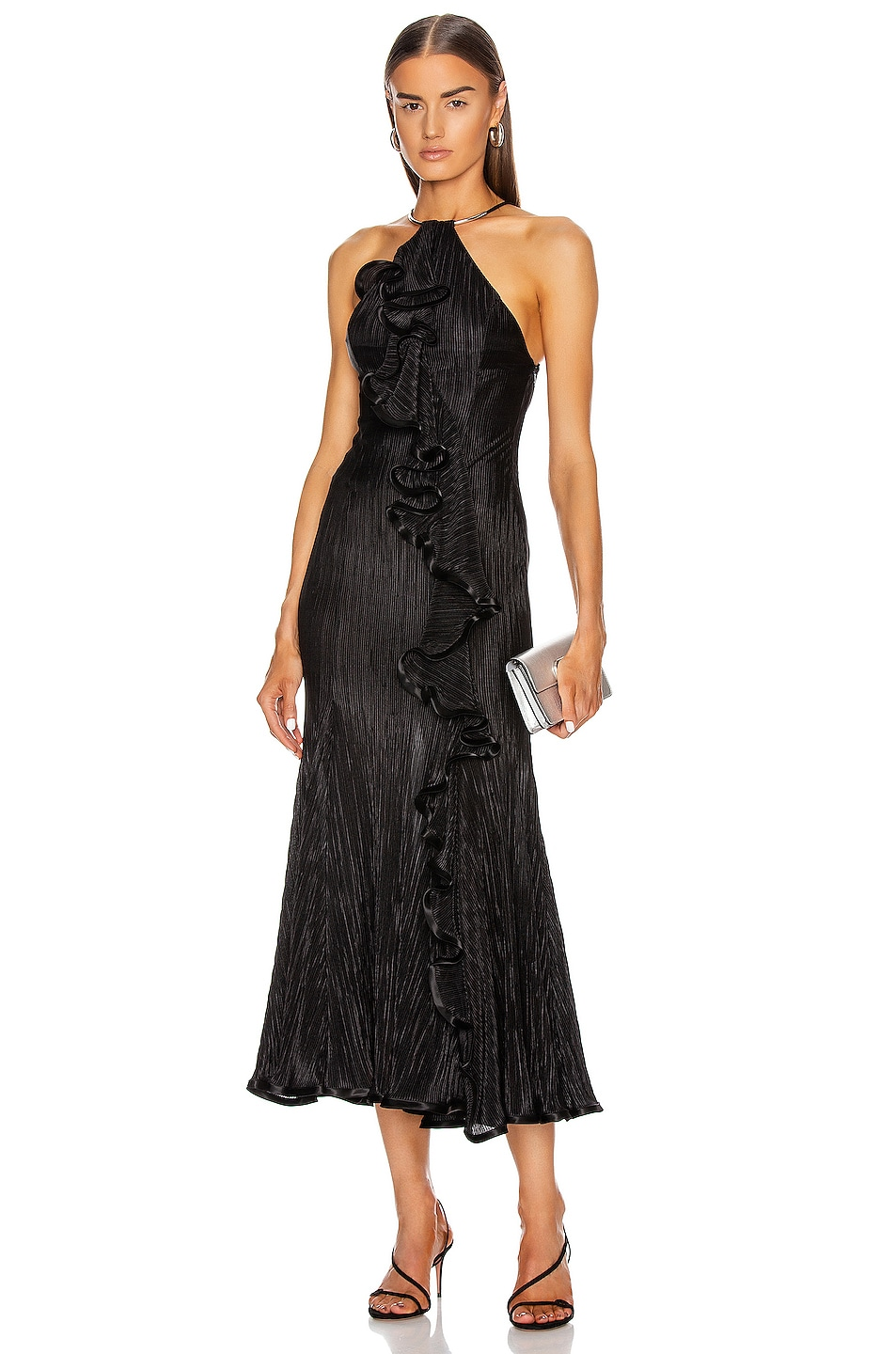 Image 1 of GALVAN Pirouette Dress in Black