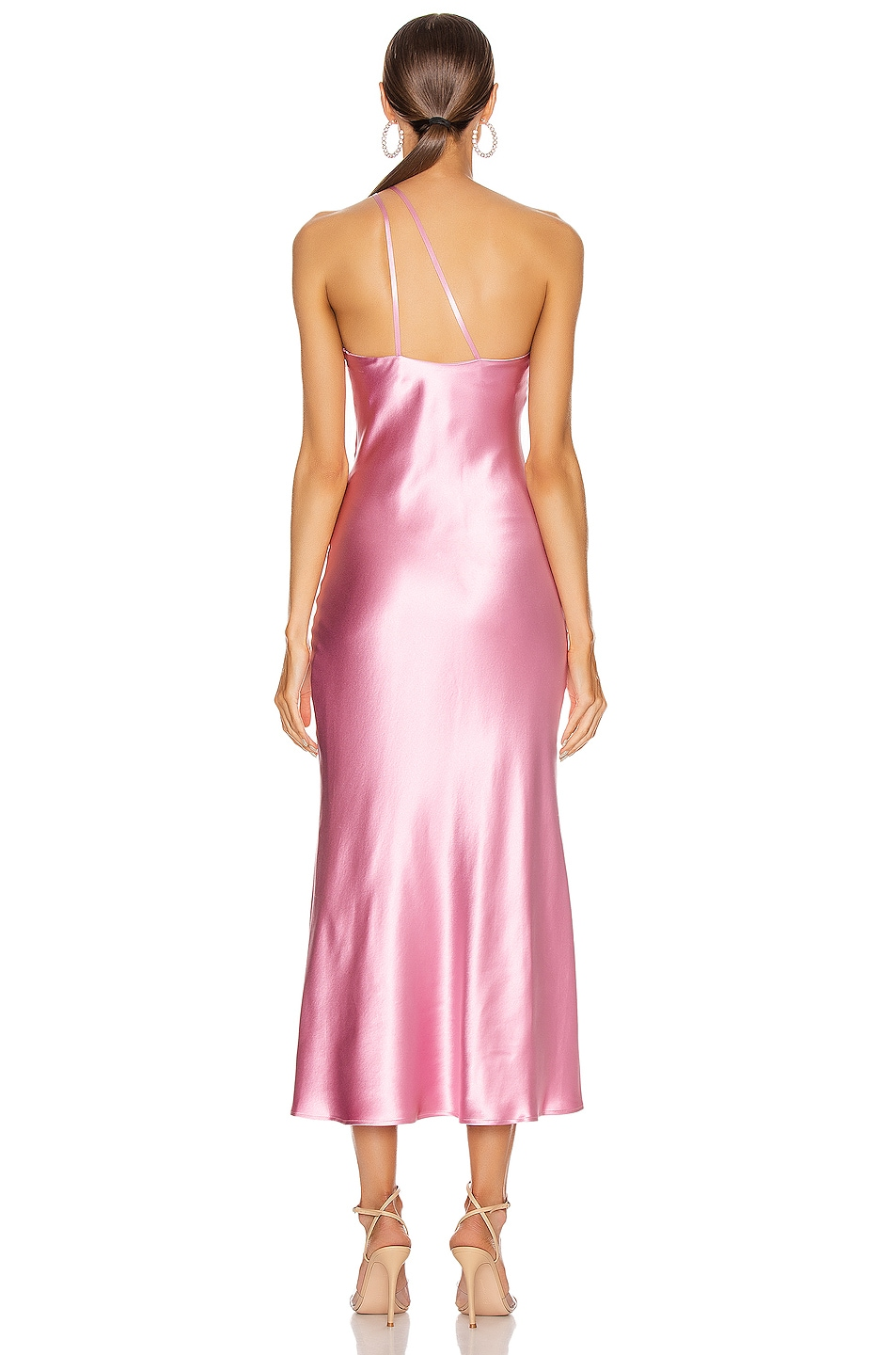 Image 4 of GALVAN Cropped Roxy Dress in Rose