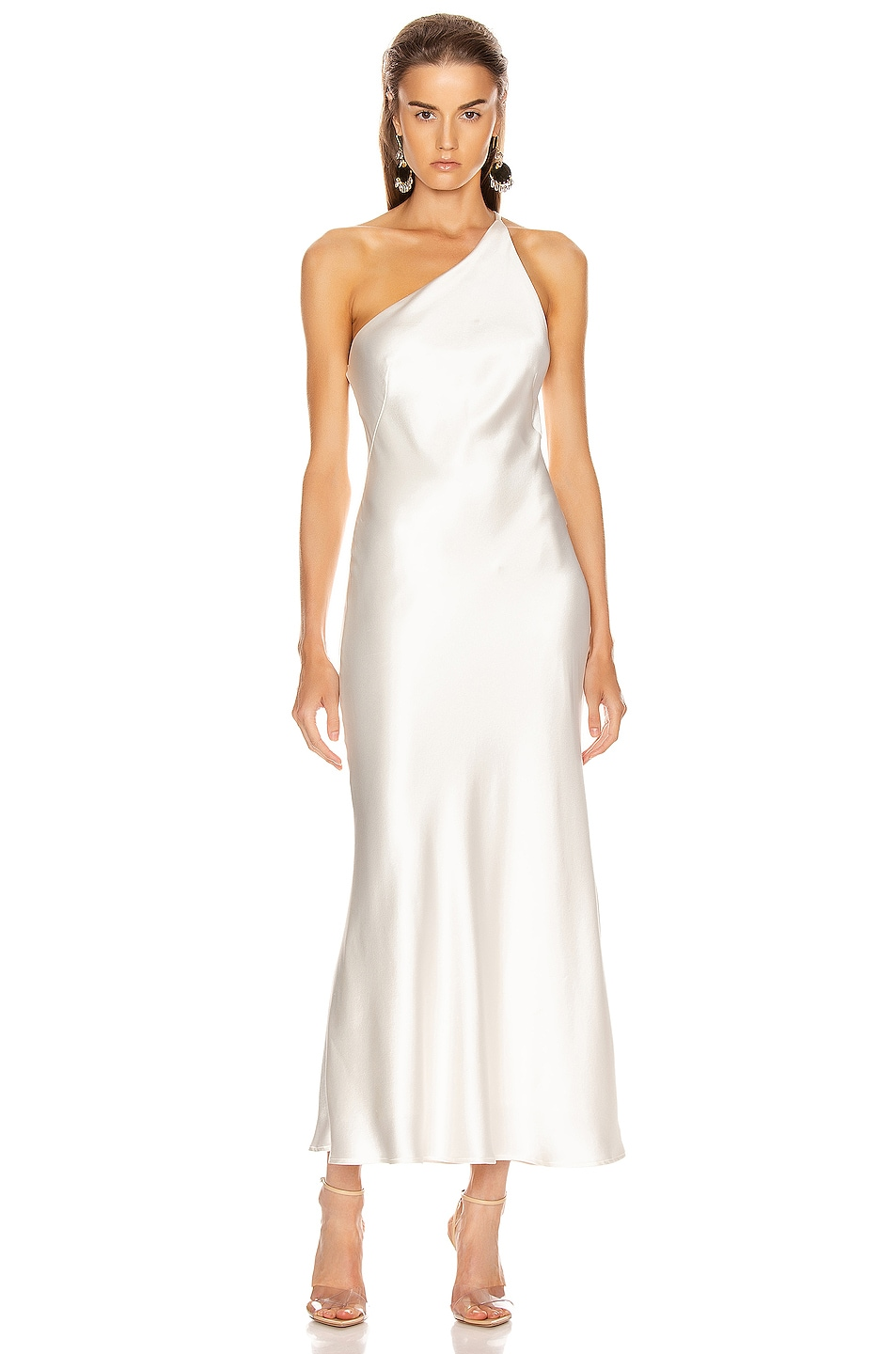 Image 1 of GALVAN Ibiza Dress in White