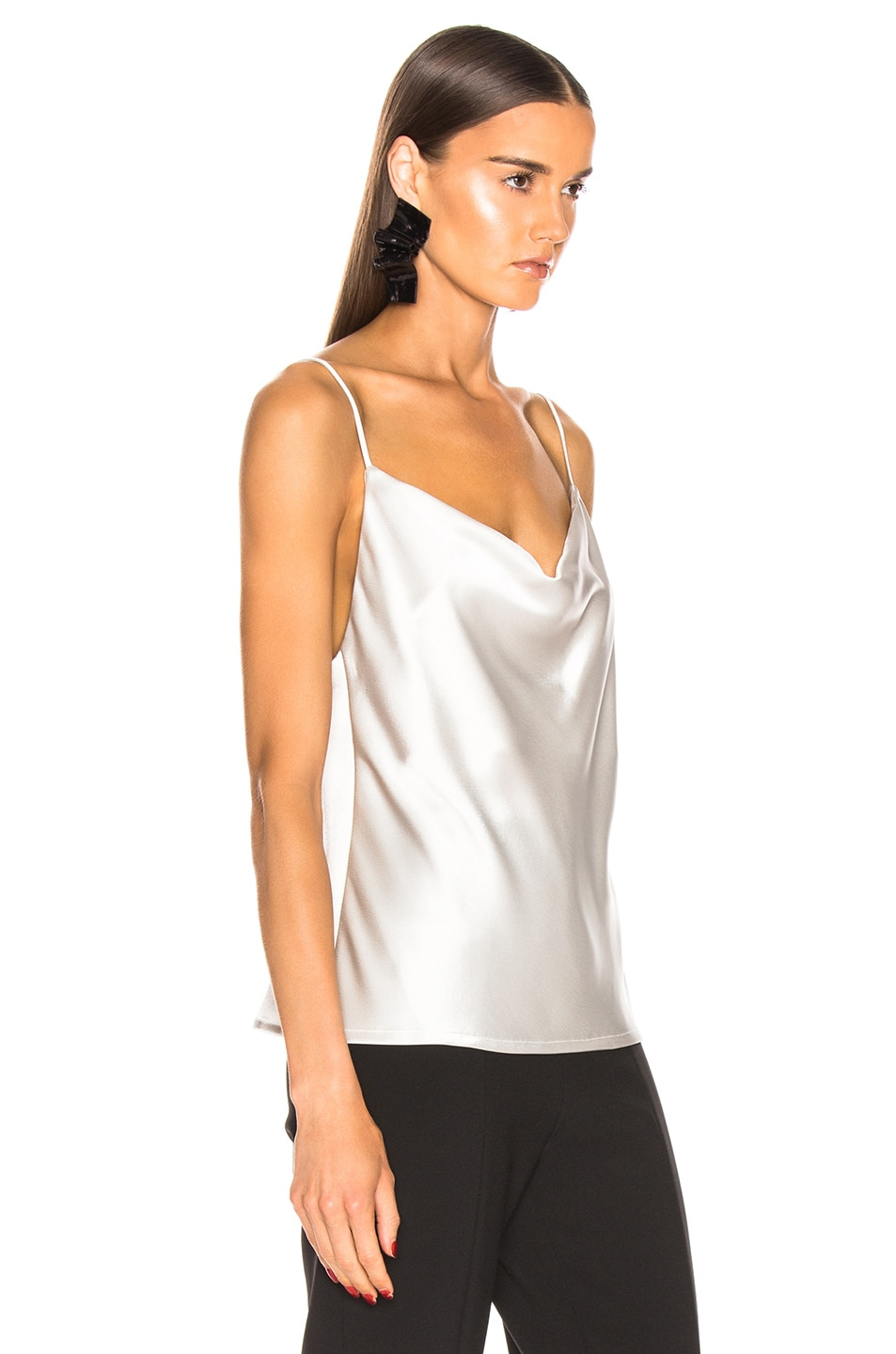 Image 2 of GALVAN Whiteley Camisole Top in Platinum