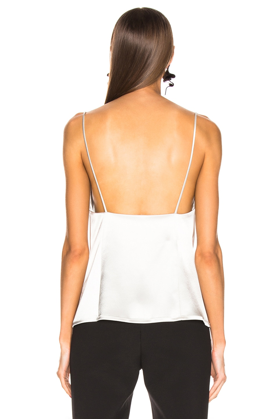 Image 3 of GALVAN Whiteley Camisole Top in Platinum
