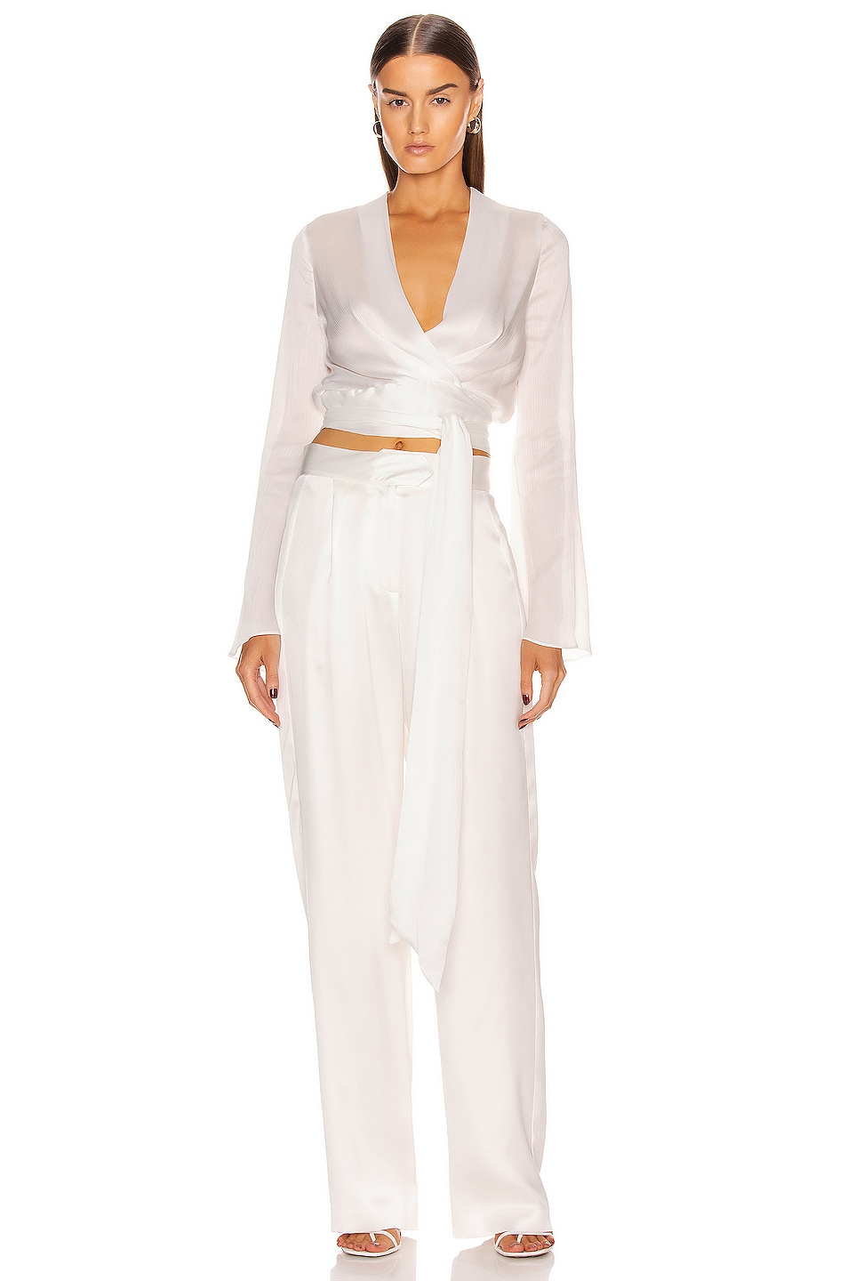 Image 1 of GALVAN Corolle Top in White