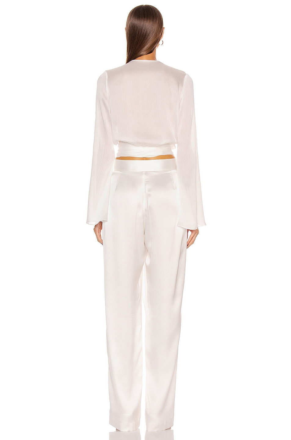 Image 3 of GALVAN Corolle Top in White
