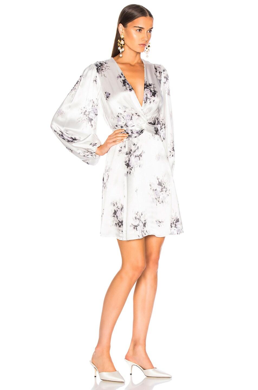 Image 2 of Ganni Cameron Dress in Egret