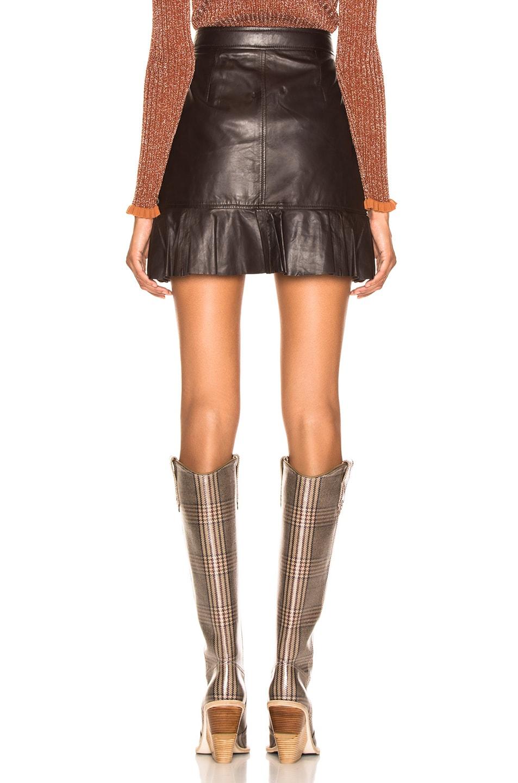 Image 3 of Ganni Rhinehart Skirt in Ganache