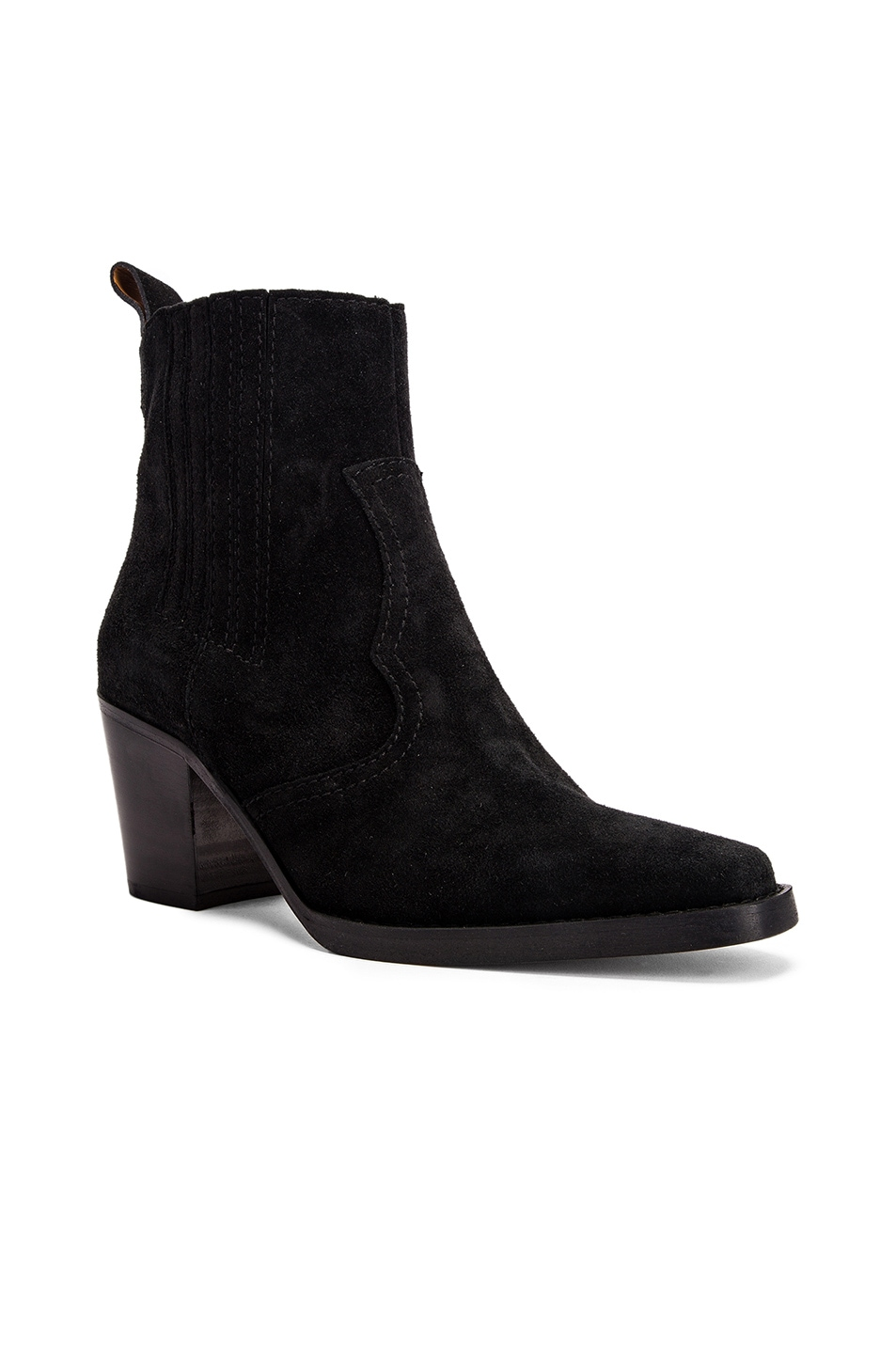Image 2 of Ganni Western Boot in Black