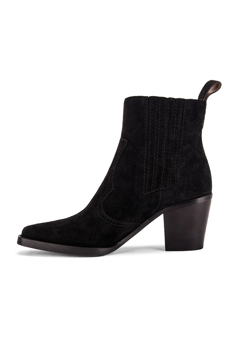 Image 5 of Ganni Western Boot in Black