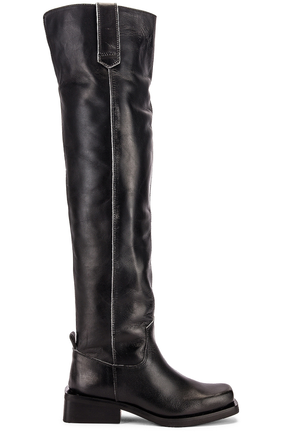 Image 1 of Ganni MC Knee High Boots in Black