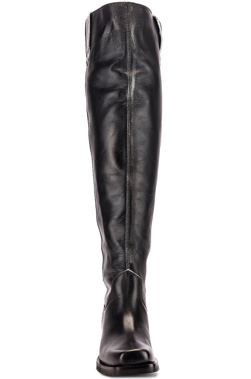 Image 4 of Ganni MC Knee High Boots in Black