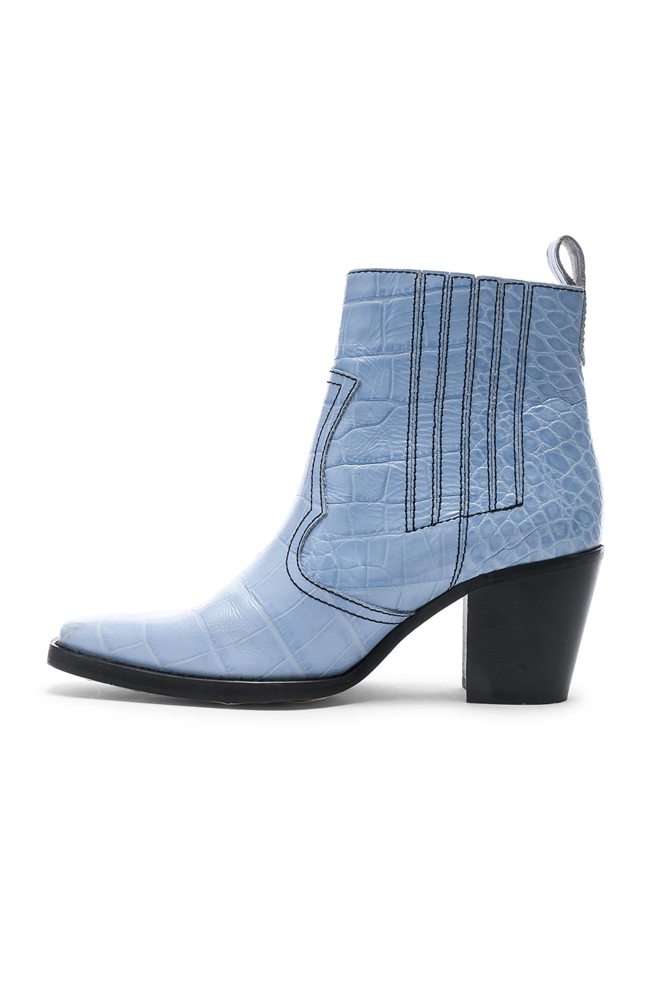 Image 5 of Ganni Western Boot in Heather