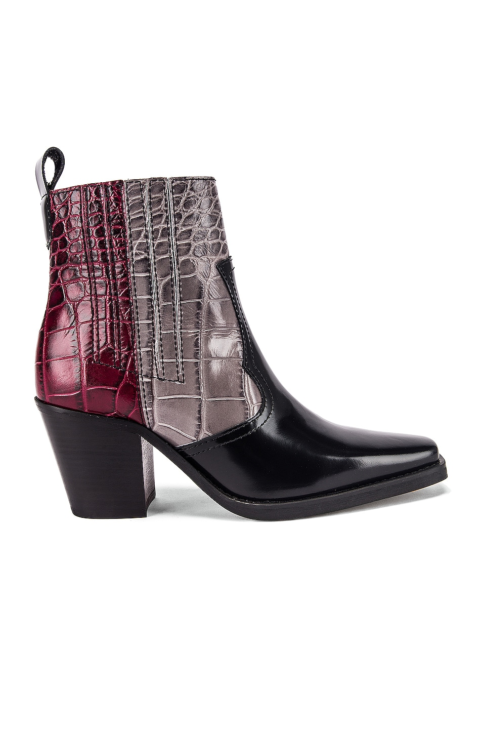 Image 1 of Ganni Western Boot in Port Royale