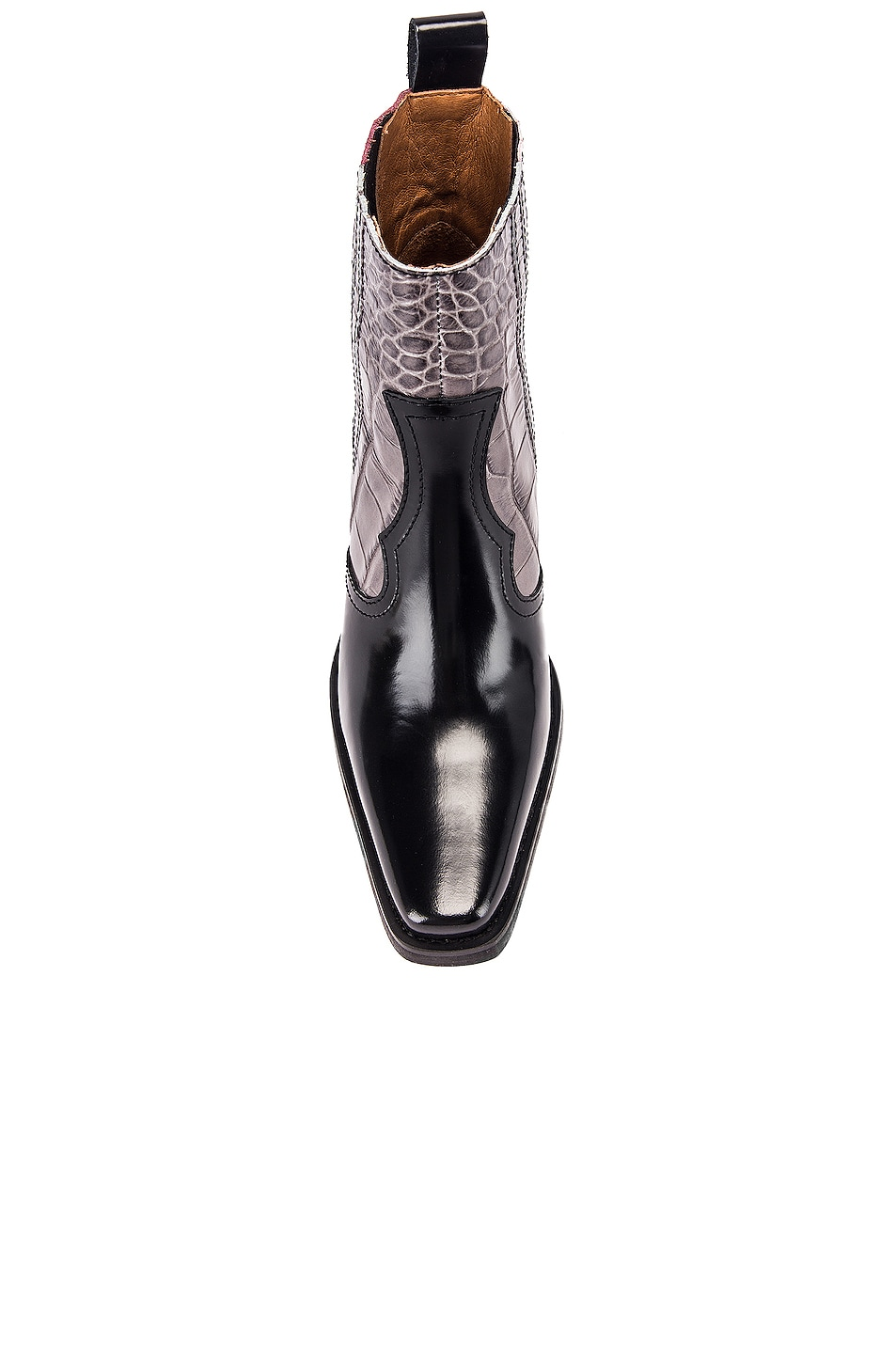 Image 4 of Ganni Western Boot in Port Royale