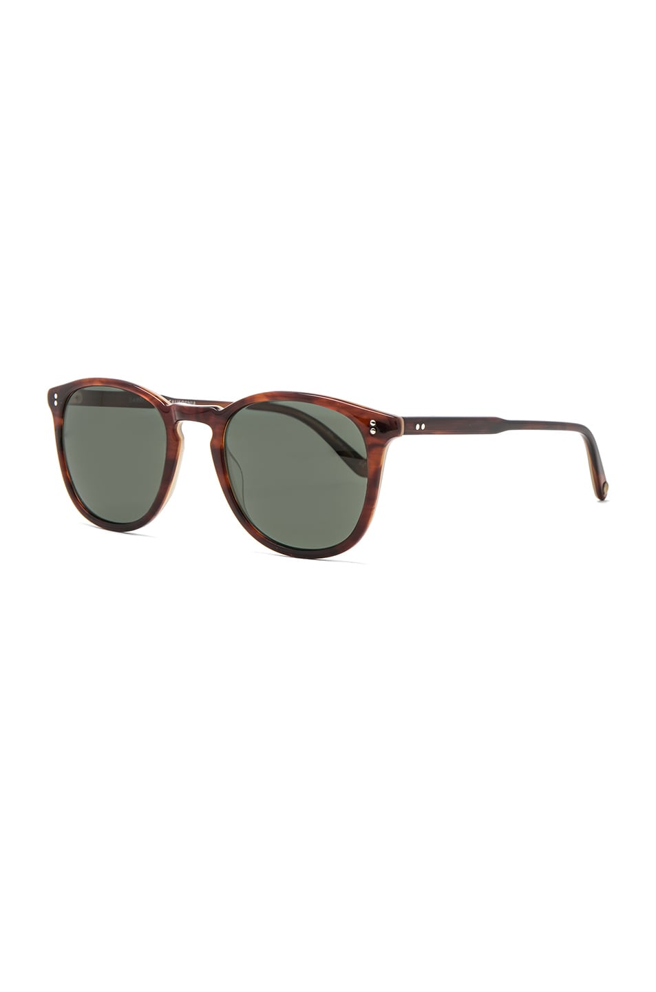 2836815ea3 Image 2 of Garrett Leight Kinney 49 in Whiskey Tortoise