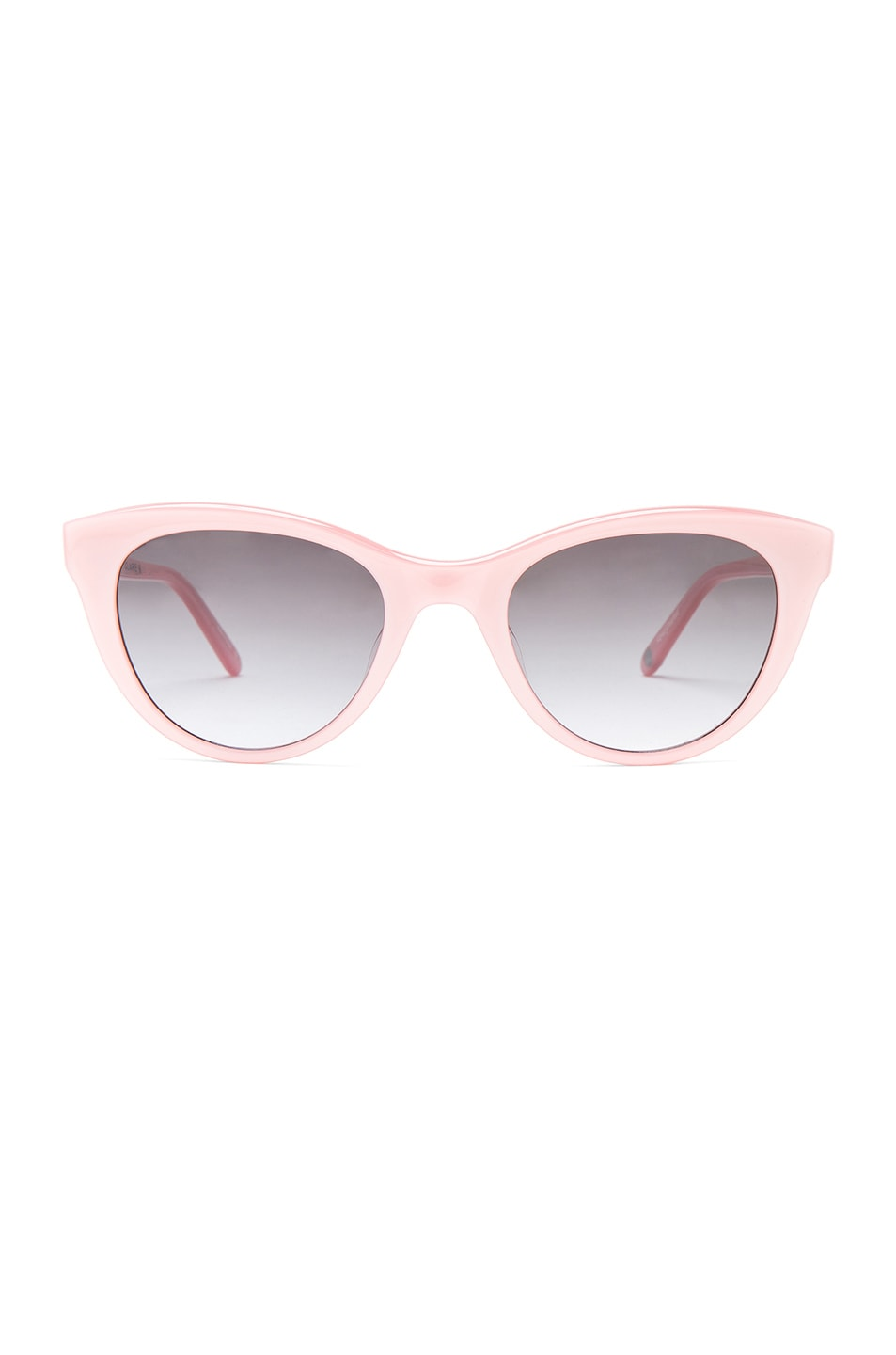 7d895ac0dc Image 1 of Garrett Leight x Clare Vivier Sunglasses in Blush