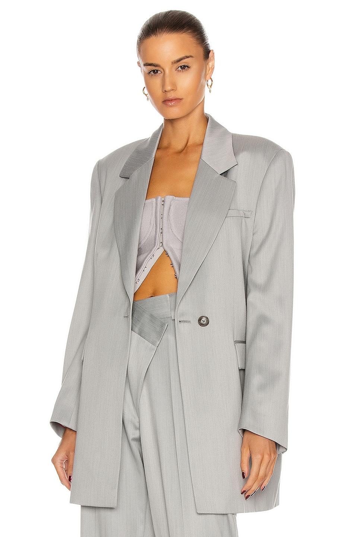 Image 1 of GAUGE81 Merida Blazer in Light Grey