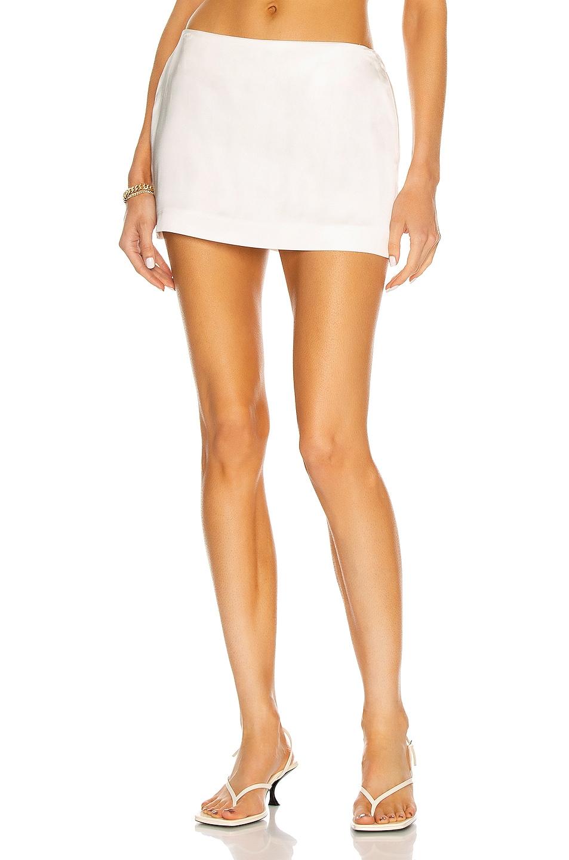 Image 1 of GAUGE81 Tulua Skirt in Ivory
