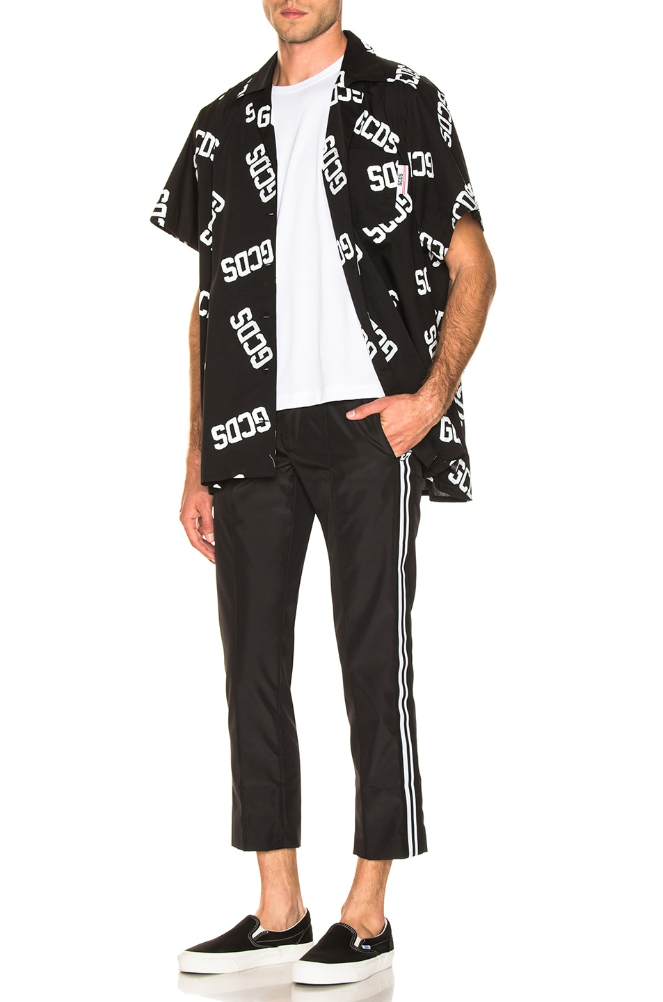 Image 5 of GCDS Classic Pant in Black