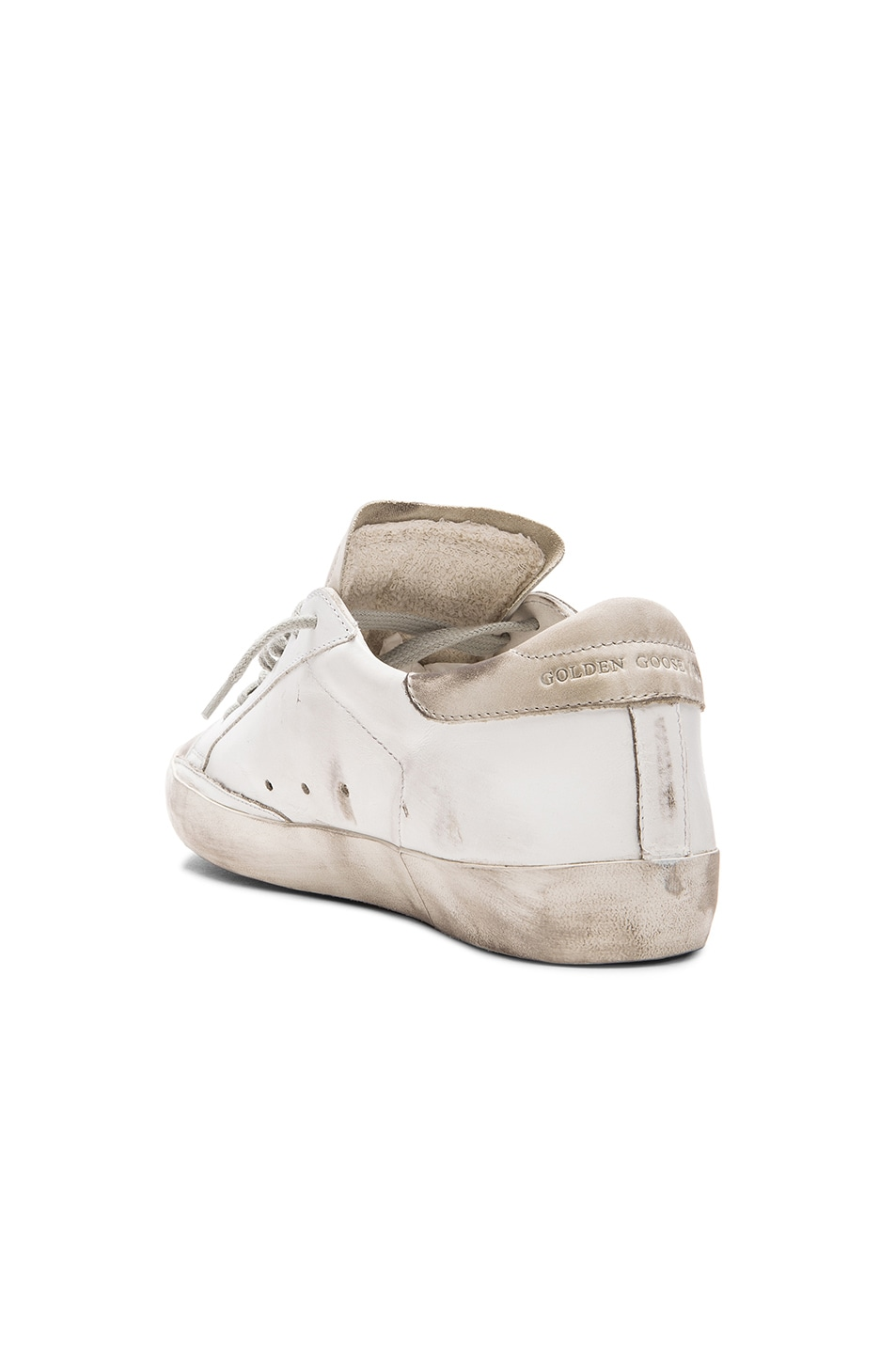 Image 3 of Golden Goose Superstar Sneakers in White