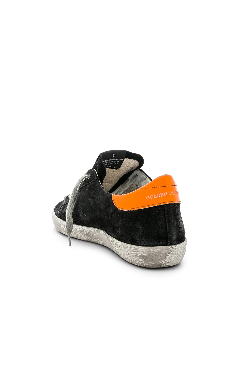 Golden Goose Superstar Sneaker Black & Silver 70%OFF