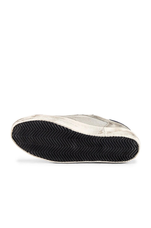 Image 6 of Golden Goose Superstar Sneaker in Ice Suede & Grey Cord