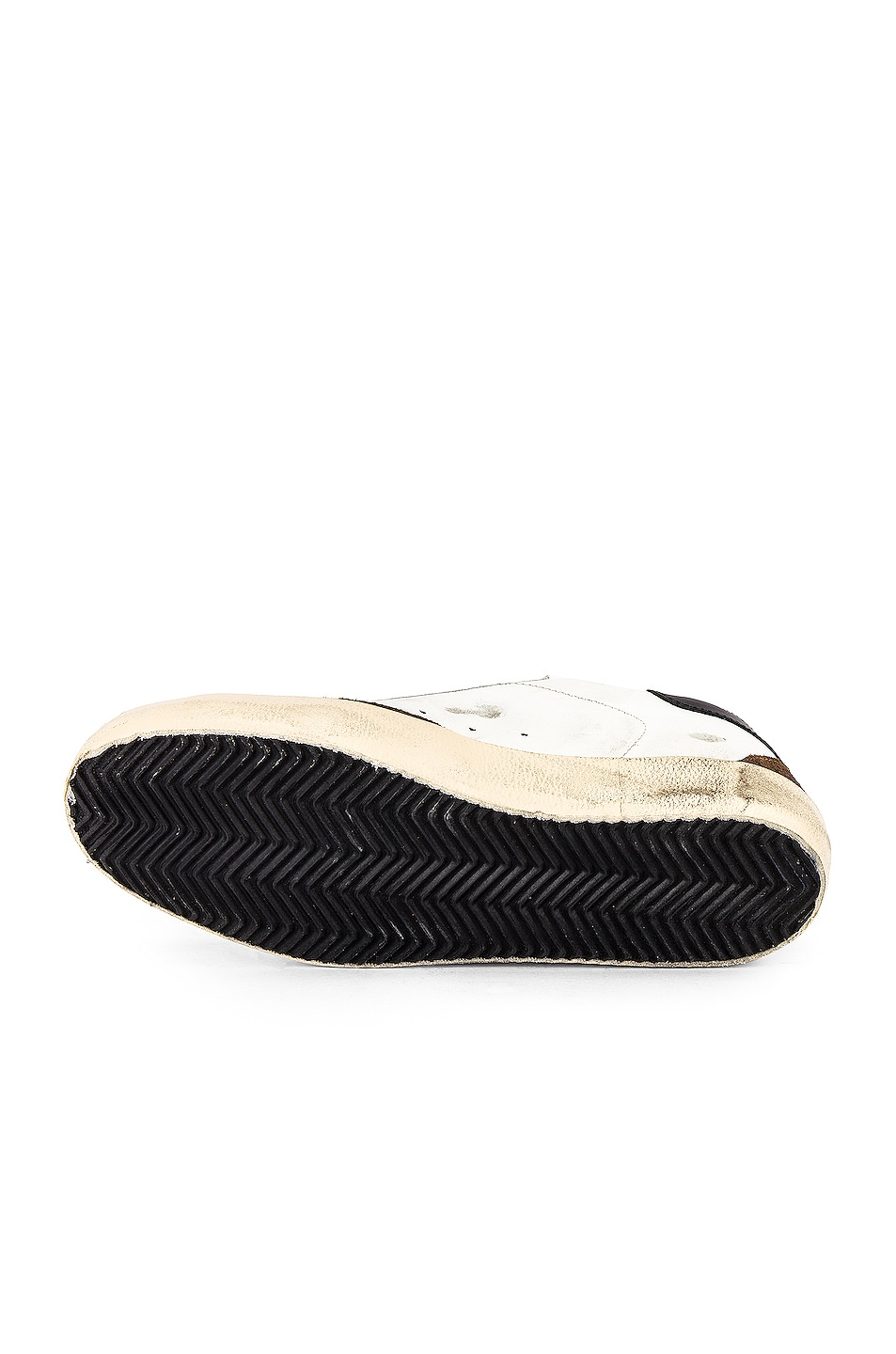 Image 6 of Golden Goose Superstar Sneaker in White Mud Suede & Ice Star